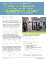 """HFMA Publishes Bethesda Transformation Profile: """"Put the Patient First, and All Good Things WillFollow"""""""